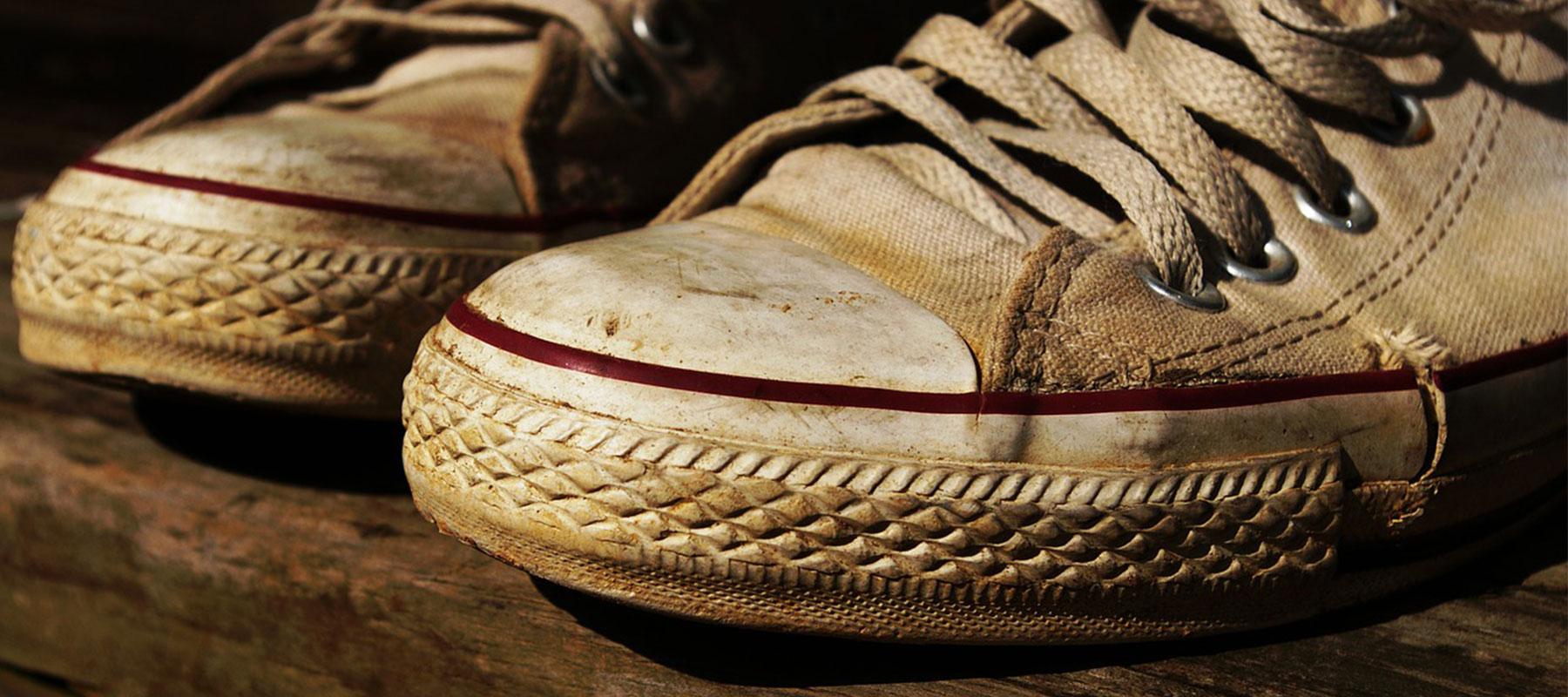 Come pulire le scarpe da ginnastica