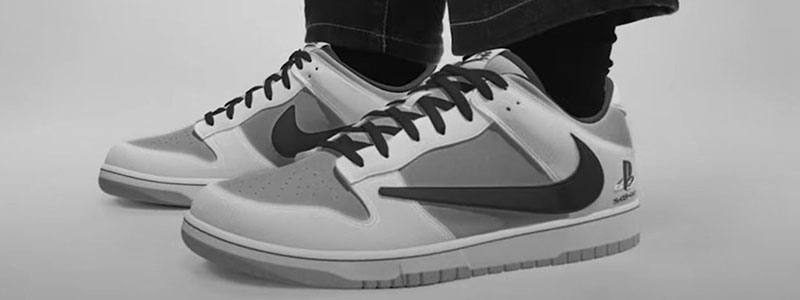 Read more about the article Travis Scott x PlayStation x Nike Dunk Low